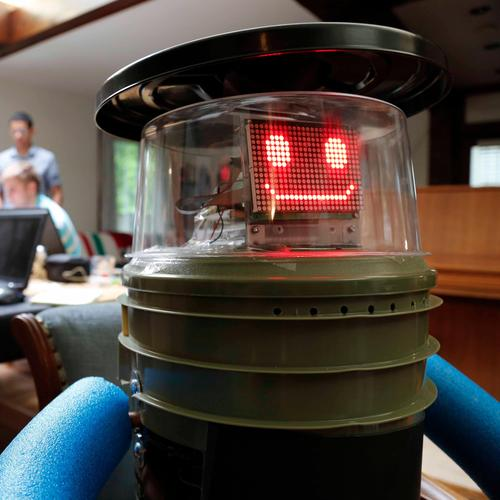 HitchBOT is a robot developed by several Canadian universities that is hitchhiking its way across Canada. The robot includes speech processing and recognition technologies, as well as artificial intelligence that allows it to talk to people that pick it up along its journey. The trip began near Toronto and will conclude in Victoria, British Columbia, this month.  (Source: www.hitchbot.me)