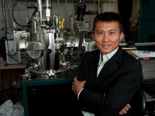 Yi Cui, a professor of material science and engineering at Stanford University, led a research team that developed a way to protect a lithium anode so a pure lithium anode in a battery design is possible. Called the 'Holy Grail' of battery design, this would allow for a more efficient battery with unprecedented performance. Such a battery could help significantly drive down the cost of electric vehicles and also solve issues associated with mobile device recharging.