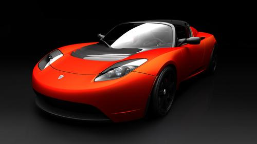 Tesla CEO Elon Musk says the company will offer an updated battery that would give its Roadster a 400-mile range.  (Source: Tesla Motors)