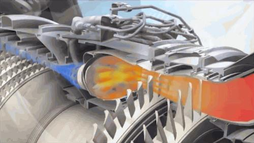 The 3D-printed fuel nozzles pipe fuel into the LEAP jet engine's combustion chamber.  (Source: GE Aviation)