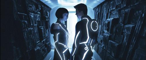 Tron (1982). A hacker is transported into the digital universe of 'The Grid,' and must survive combat as a cyber gladiator in order to stop the villainous Master Control. The imagination behind this movie made big ripples in the science fiction world, and today, Tron is a cult classic.   (Source: fanboy.com)