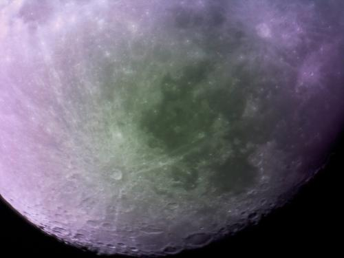 This photo of the Moon was made with a reflecting telescope constructed with 3D-printed parts, and cost  GB pound 100 to make (about $161 US). The University of Sheffield team beat NASA to the goal of taking the first photos of space using a 3D-printed telescope.   (Source: University of Sheffield)