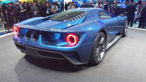 Ford's GT supercar isn't expected to hit the streets until 2020, but it attracted massive crowds at the auto show. Most notable for its use of lightweighting, the GT features a carbon fiber passenger cell, along with aluminum front and rear sub-frames. Ford claims its lightweighting effort could ultimately give the GT one of the best power-to-weight ratios of any production car. A twin-turbocharged V-6 engine will provide the rear-wheel drive vehicle with 600 HP.   (Source: Design News)