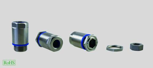 HELUTOP HT-Clean Cable Gland is made of stainless steel and is IP68 & IP69K protection class rated. It is also FDA 21 CFR 177.2600 compliant.