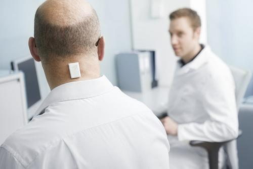 McLaren used this sensor to monitor the amount and intensity of patient activity to assist GSK in clinical trials.   (Source: McLaren Applied Technologies)