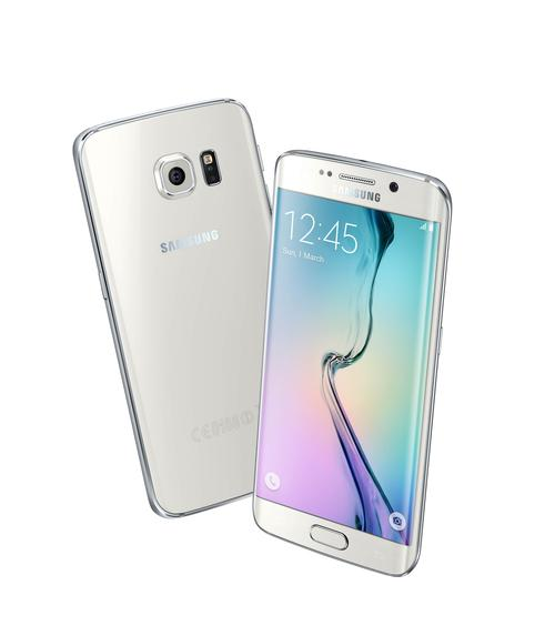 The body of Samsung's Galaxy S6 and S6 edge smartphones is made of an Alcoa aerospace-grade aluminum alloy, giving them an even thinner and lighter design than before with plastic. It's 70% stronger than the standard aluminum used in similar devices. 