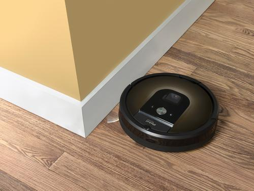 The Roomba 980 can create a spatial map of your home that it may someday be able to relay to other devices.  (Source: iRobot)