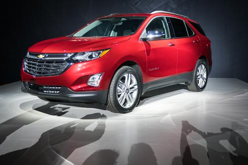 The 2018 Chevy Equinox SUV will offer an optional, 1.6-liter, cast aluminum, turbocharged diesel engine.  (Source: Chevrolet)