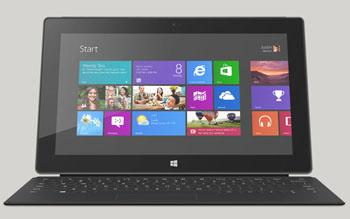 Simply touching: Microsoft's Windows 8 and tablets like the Surface Pro  will stress the supply chain in new ways, particularly for LCD screens.