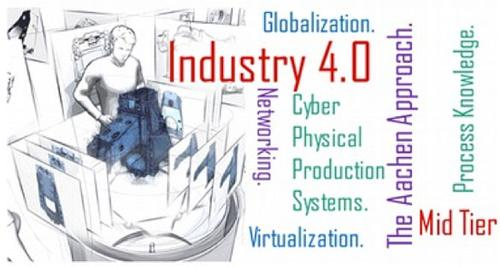 Many segments will need to operate together to make Industry 4.0 a reality.  (Source: The European Tooling Platform)