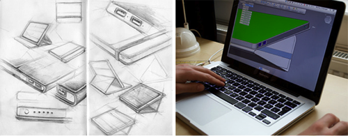 Designing the Solartab. (Source: Solartab)