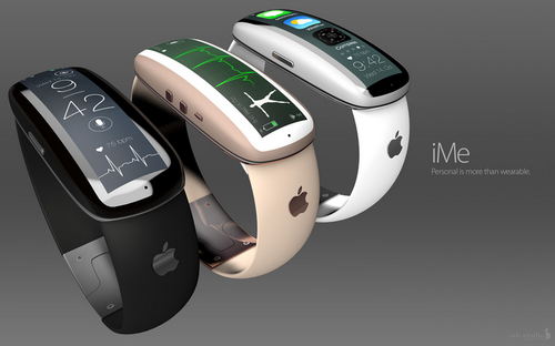 Apple iWatch concept iMe. (Source: ADR Studio)