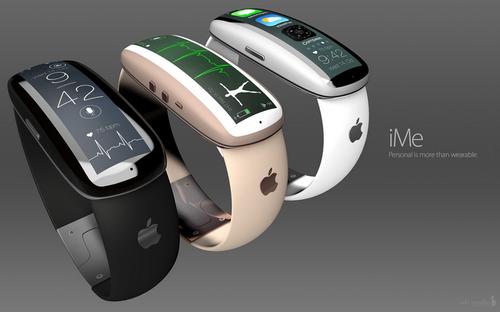 Apple iWatch concept iMe. (Source: ADR Studio)