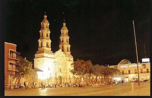The city of Aguacalientes, Mexico.