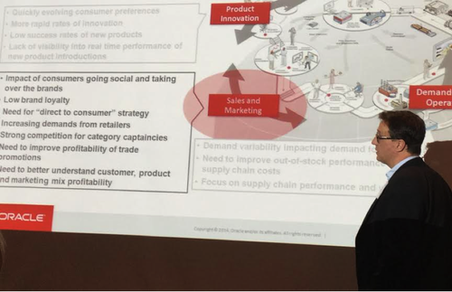 Hanza Andersson explains supply chain performance and customer and product value. Image: Susan Fourtane