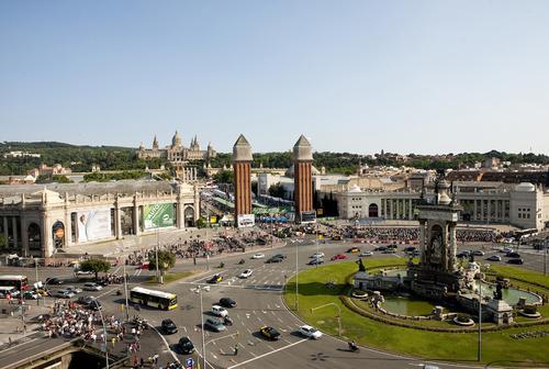 Fira Barcelona in Montjuic