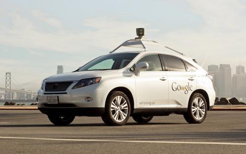 Google-Lexus Driverless Car