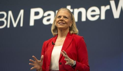 IBM CEO Ginni Rometty explains how IBM is putting all its chips into the Cognitive Computing pot at Las Vegas' PartnerWorld Leadership Conference. SOURCE: IBM