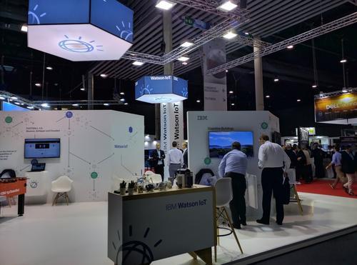 IBM booth at IoTSWC (Photo courtesy: Pablo Valerio)