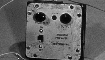 Pacemaker was born of a blackout