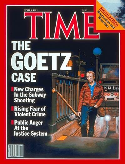 Nearly 30 years after shooting four men he thought were trying to mug him on a New York subway, Bernhard Goetz's name is still remembered internationally. Goetz, who held a BS in electrical and nuclear engineering from New York University, was acquitted of attempted murder and first degree assault charges, according to Wikipedia, but was convicted of criminal possession of a weapon in the third degree. (Source: Google Images/Time.com)