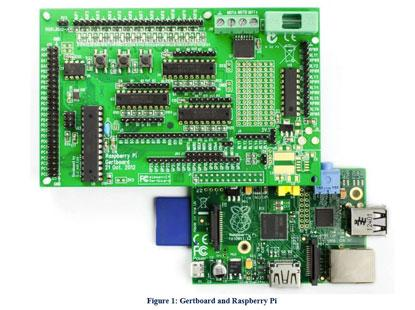 Created by Gert Van Loo, a developer on the alpha version of the Raspberry Pi, Gertboard expands the GPIO of the Raspberry Pi like no other product. Key feature is the pairing of a 28-pin ATmega microcontroller (any of the following models ATmega 48A/PA, 88A/PA, 168A/PA, or 328/P). The vast expandability of the Arduino Integrated Development Environment (IDE) is now added to the Raspberry Pi through the addition of the ATmega.