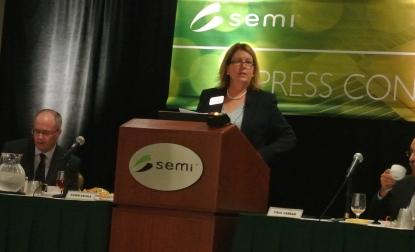 Karen Savala, president of SEMI Americas, says chip building is making a comeback in the United States.