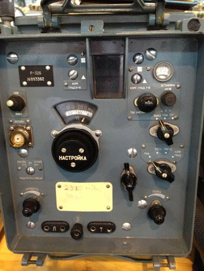 Some kind of Russian military radio, found at the Ham Radio show in Friedrichshafen, Germany, June 2013.  (Source: Doug Grant)