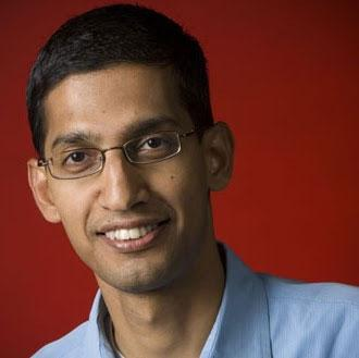 Google's Sundar Pichai now runs Android and Chrome OS groups.