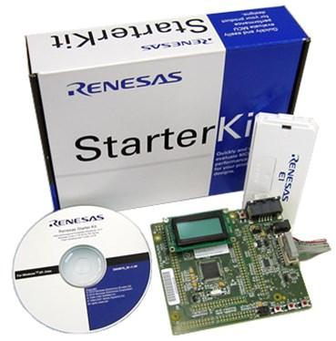 The Renesas RX220 Starter Kit.