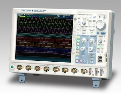 The Yokogawa DLM4000 provides a bandwidth of up to 500 MHz and a data rate of 2.5 GS/s.