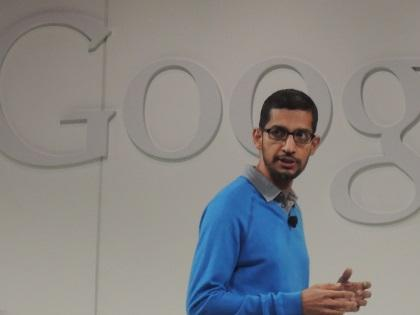 Sundar Pichai hosted the Nexus 7 and Chromecast event.