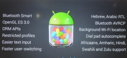 The ingredients of the new Jelly Bean.