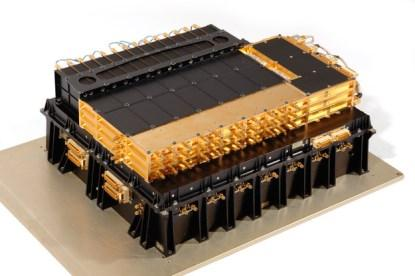 The payload includes a number of these Alphasat processors.