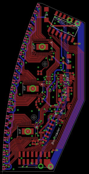 Custom LED driver board.