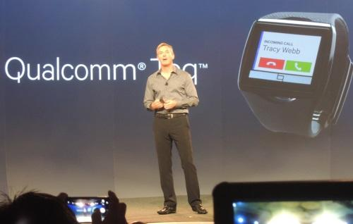 Paul Jacobs announced the Toq watch at Uplinq.