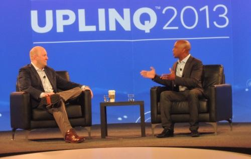 Jon Fortt of CNBC interviewed Marc Andreessen at Uplinq.