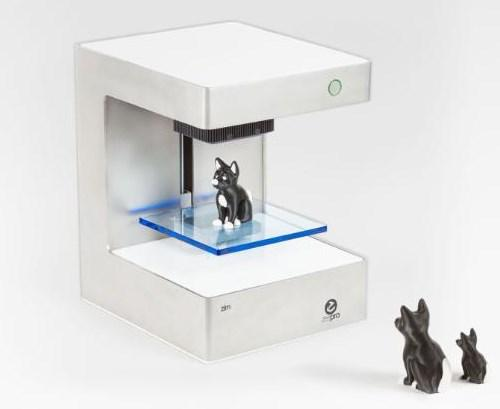 Zim: The first dual-head personal 3D printer.
