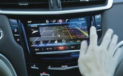 Cadillac CUE proximity sensing