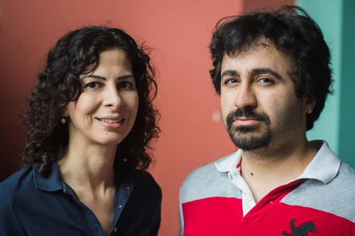 Professor Farinaz Koushanfar (left) at Rice University and doctoral candidate Masoud Rostami (right) created a system to secure implantable medical devices like pacemakers and insulin pumps from wireless attacks. 
