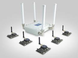 Waspmote modules along with router via Digi at $200.00+ per module.