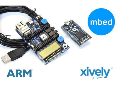 Xively Jumpstart Kit via Adafruit at $124.95.
