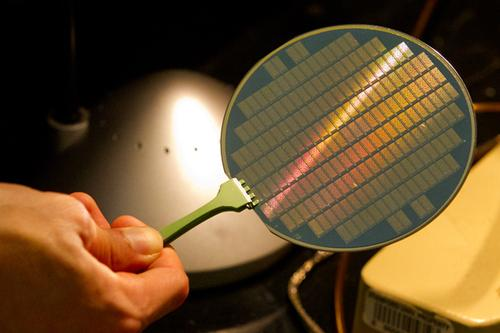Carbon nanotube computers on silicon wafer aim for smaller, more energy-efficient CMOS processors.