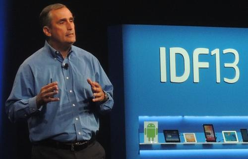 Intel's Brian Krzanich announced Quark at IDF in September.