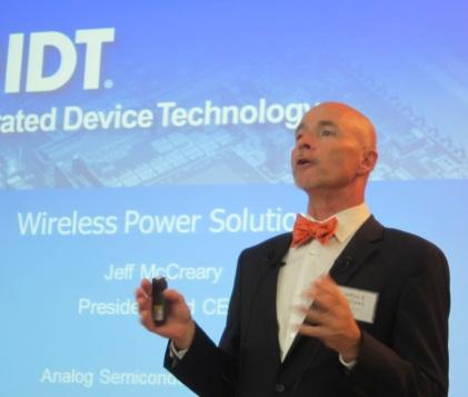 IDT's interim CEO speaks at the Analog Semiconductor Leaders' Forum in Seoul.