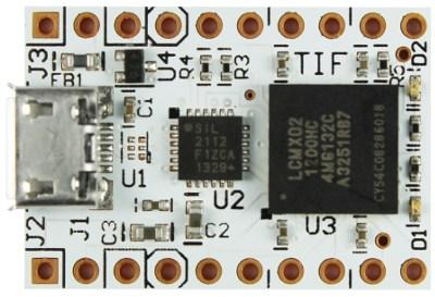 The TIF: A tiny FPGA board.