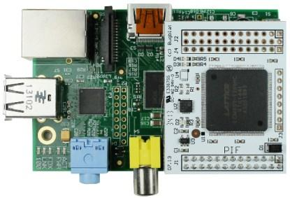 The PIF: An FPGA for the Raspberry Pi.
