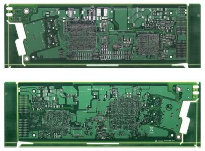 This network line card is the first PCB fabricated by a US manufacturer directly from an IPC-2581 design file. (Click here for a larger version.)