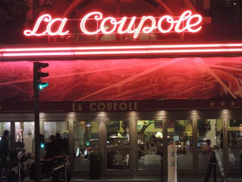 Many early scenes are served up with a lavish meal at this upscale Paris landmark.