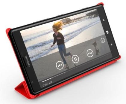 Nokia's Lumia 1520 with accessory cover (Source: Nokia)